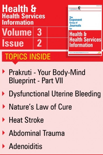 Health & Health Services Information – Volume 3 – Issue 2