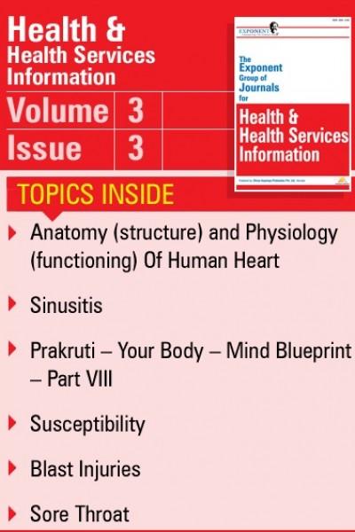 Health & Health Services Information – Volume 3 – Issue 3