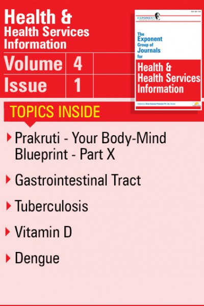 Health & Health Services Information – Volume 4 – Issue 1